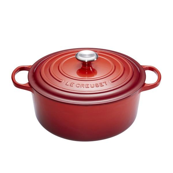 Le Creuset Round Casserole 26cm Cherry Red 5.3L 21177260602430