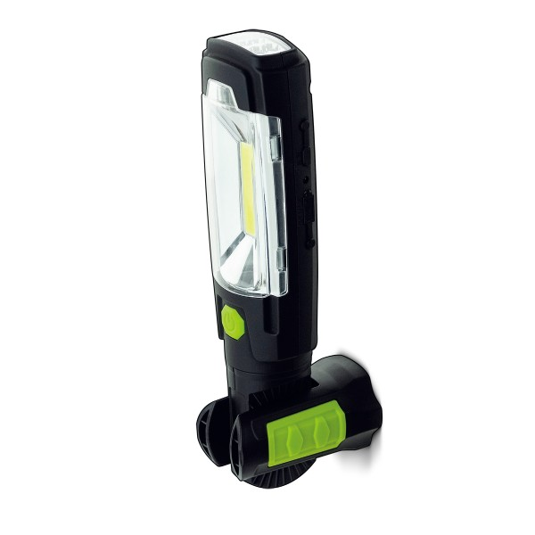 Luceco LILT30R65-1A USB Rechargeable LED 3W Swivel Torch Power Bank inspection lights