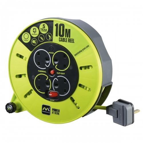 Masterplug PRO-XT CASSETTE REEL 10M CMU10134SL-PXA