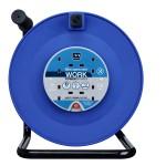 Masterplug HDCC5013/4BL 50M Open Reel 4X 13A Blue & Black