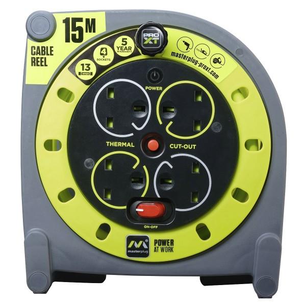 Masterplug PRO-XT  Case Reel 15M HMU15134SL-PXA
