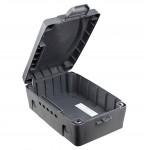 Masterplug WBX-MP Outdoor IP54 rated Cable Wire Storage Box Power Strip Socket Extension Organizer Dark Grey