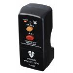 Masterplug PRCDKB-MP RCD Safety Plug 13A Fused UK 3 P Black Residual Current Device