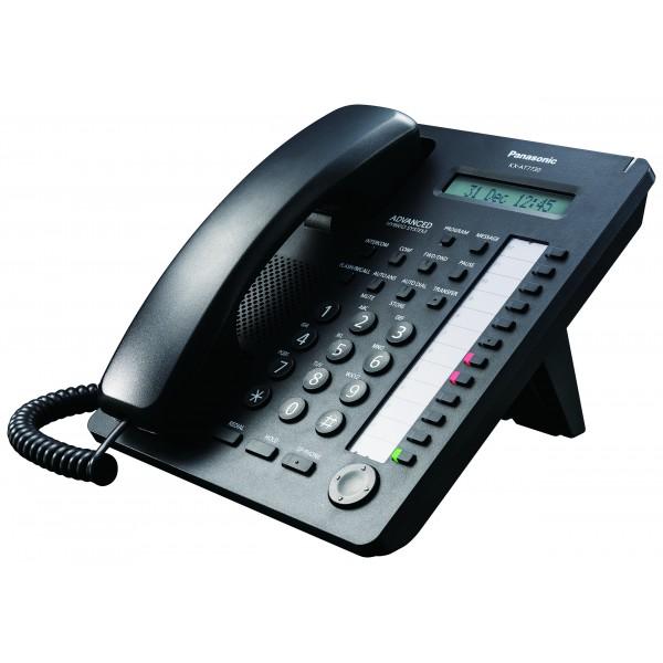 Panasonic KX-AT7730X-B Standard Proprietary Phone Black