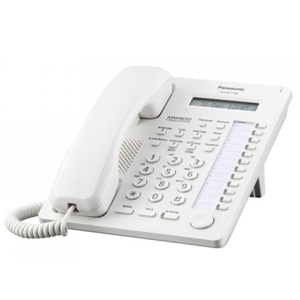 Panasonic KX-AT7730X Standard Proprietary Phone White