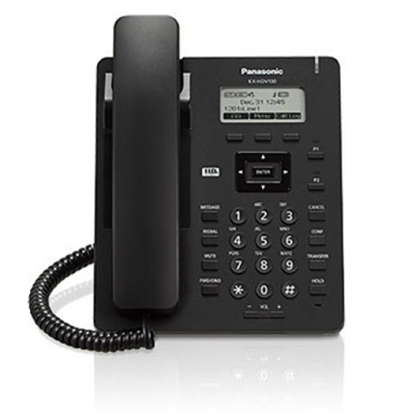 Panasonic KX-HDV100BX-B Corded IP Phone Black