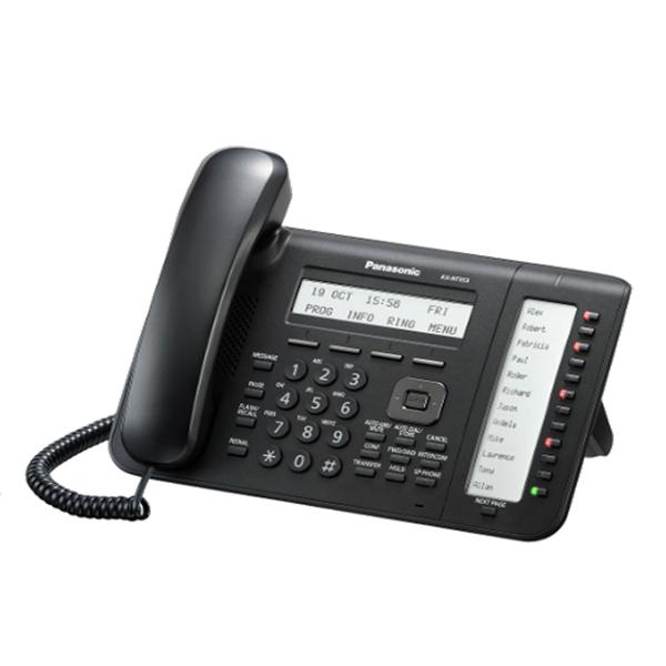 Panasonic  KX-NT553X-B IIP Proprietary Phone Black