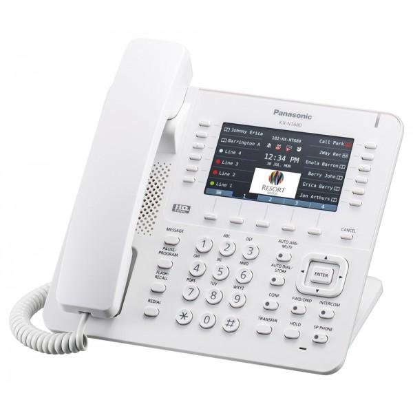 Panasonic KX-NT680X IP Proprietary Phone White