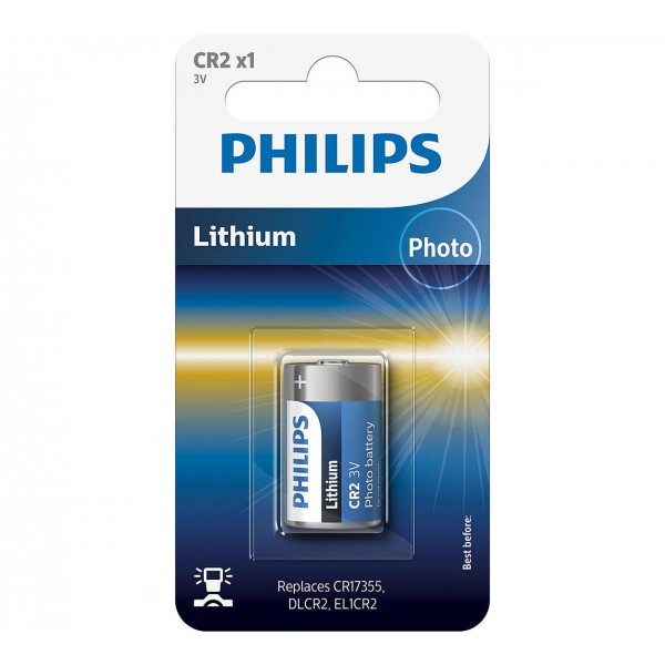 Philips CR2/97 Lithium Minicells Batteries 1pc/pack
