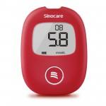 Sinocare SAFEAQ-KIT Safe AQ Smart Blood Glucose Meter Set (Unit & 25 (Lancet +Test Strip))
