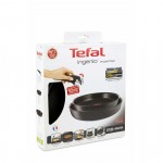 Tefal Ingenio Expertise 3 pcs set L6509105 FRY PAN 22/26CM with removable handle Induction Compatible Made in France