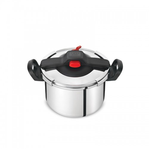 Tefal Clipso Essential Stainless Steel Pressure Cooker 7.5 Liter, P4394833 Made in France