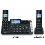 Uniden AT4401 2-Line Cordless Answering System with Smart Call Blocker (Main Unit)