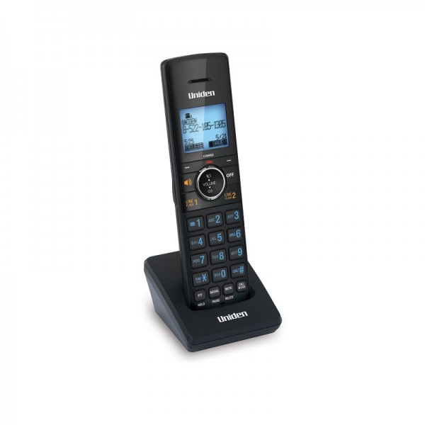 Uniden AT440HS 2-Line Cordless Answering system with Smart Call Blocker Accessory Handset