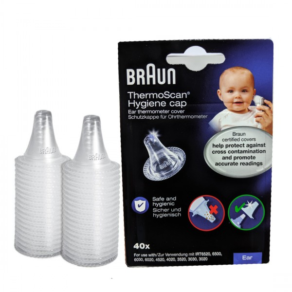 Braun - LF40 ThermoScan Hygiene Cap 40pcs